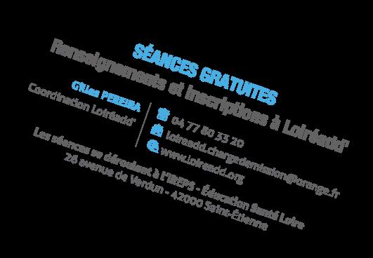 Les Lundis de LOIREADD - Séances gratuites