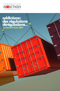 JOURNEES NATIONALES DE LA FEDERATION ADDICTION 8 et 9 Juin au Havre
