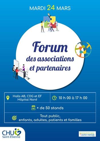 Affiche du forum des associations et partenaires