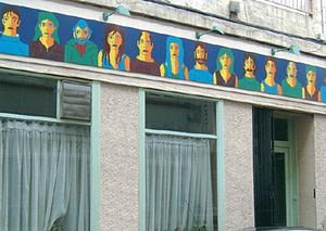Façade du Bistrot social à Saint-Étienne