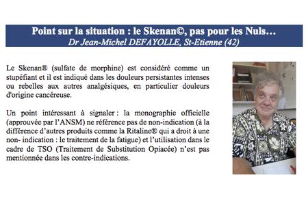 Jean-Michel DEFAYOLLE, extrait de l'article publié dans la revue Le Flyer N°65